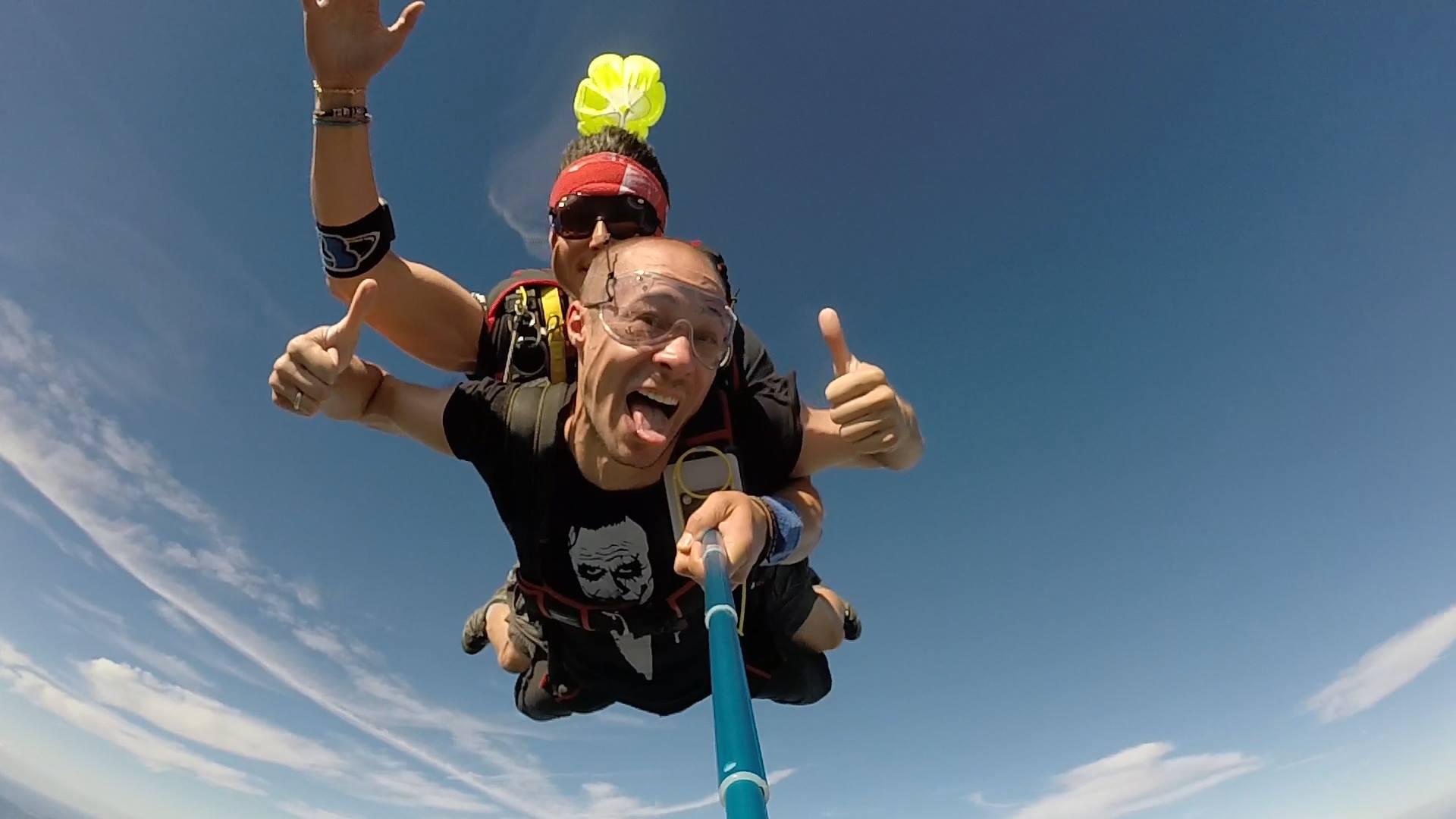 saut parachute tandem ardeche